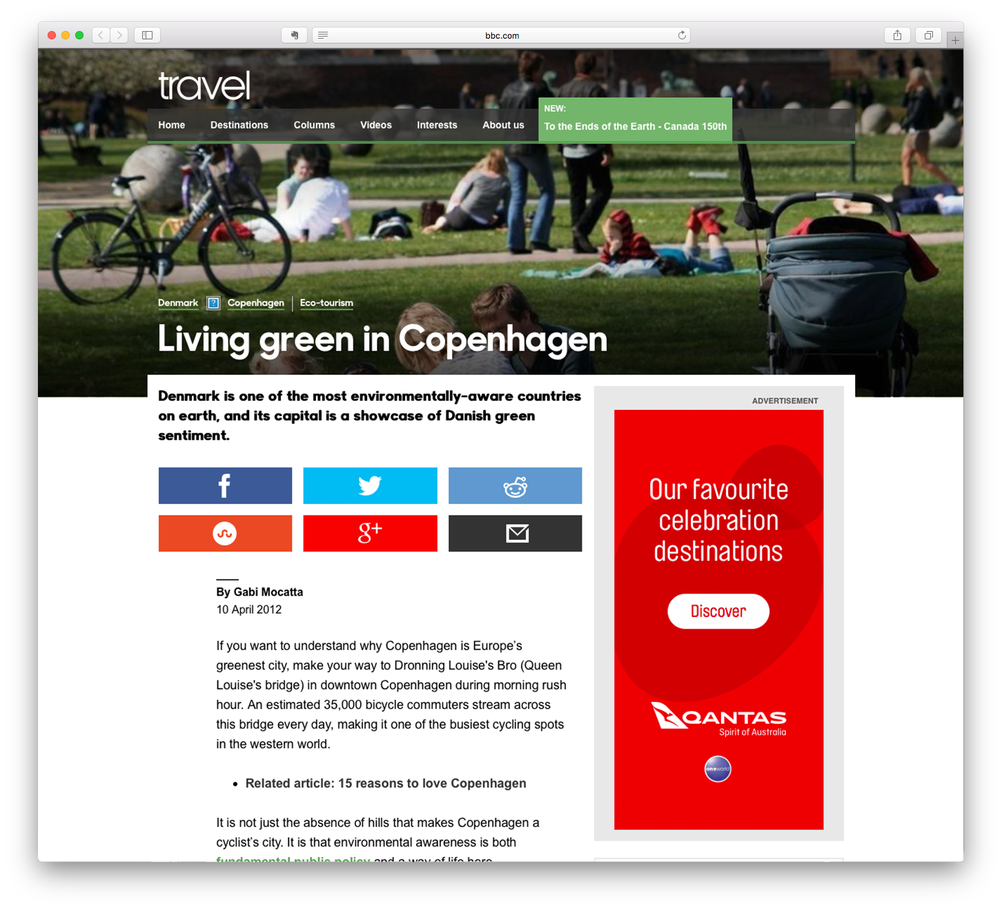 Living Green in Copenhagen