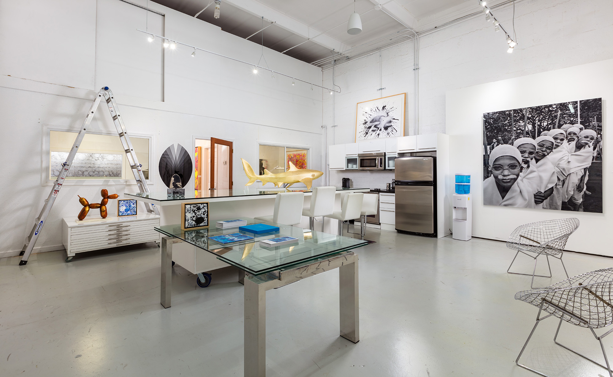 Manolis Projects Studio/Gallery, Miami, FL. Photography by Kim Sargent.