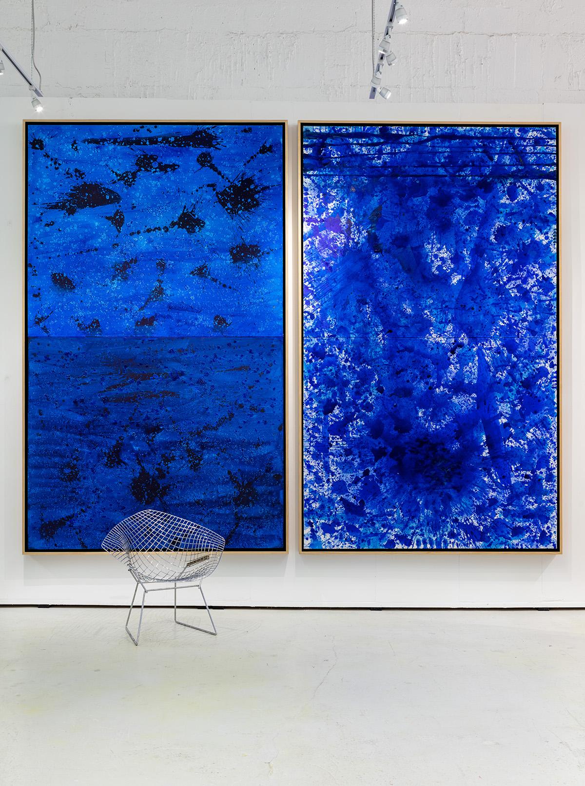 BlueLand Splash (Masculine), BlueLand Splash (Feminine), 2016 (left to right)