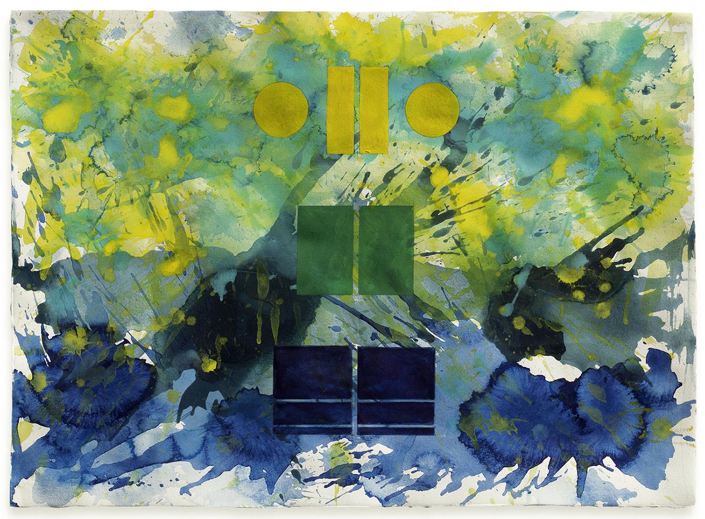 J. Steven Manolis, Palm Beach Light, 2018, Watercolor on Arches paper, 22 x 30 inches.