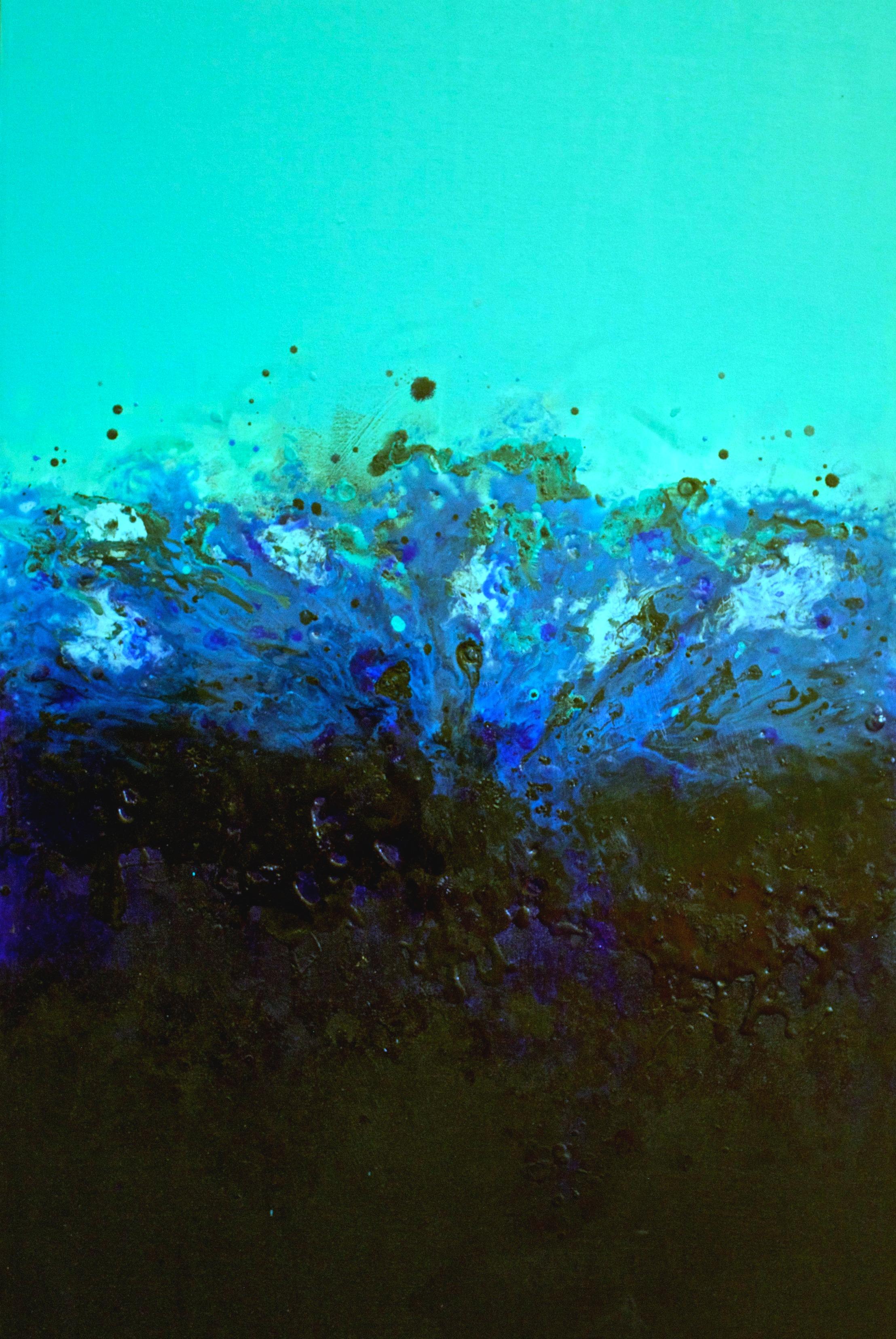 'stormy at sea'