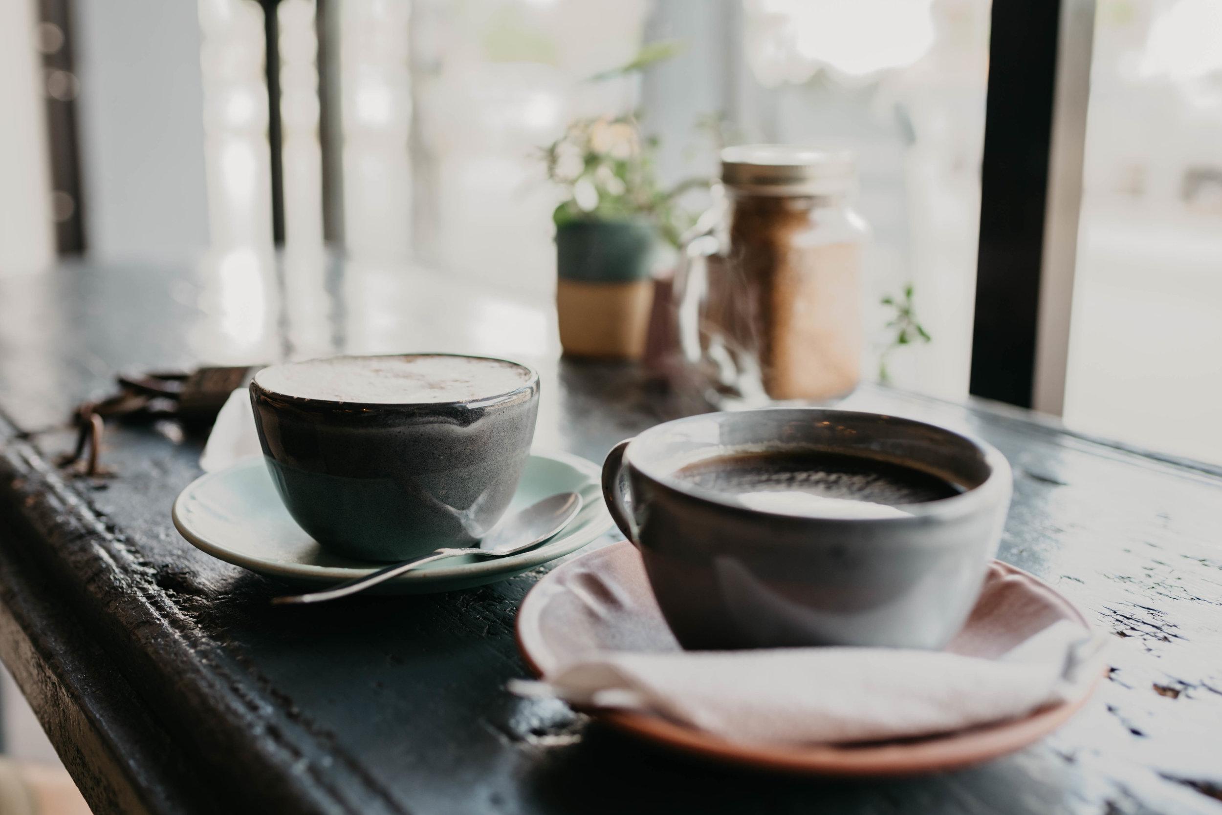 Afternoon coffee(s) at Prieto Tulum.
