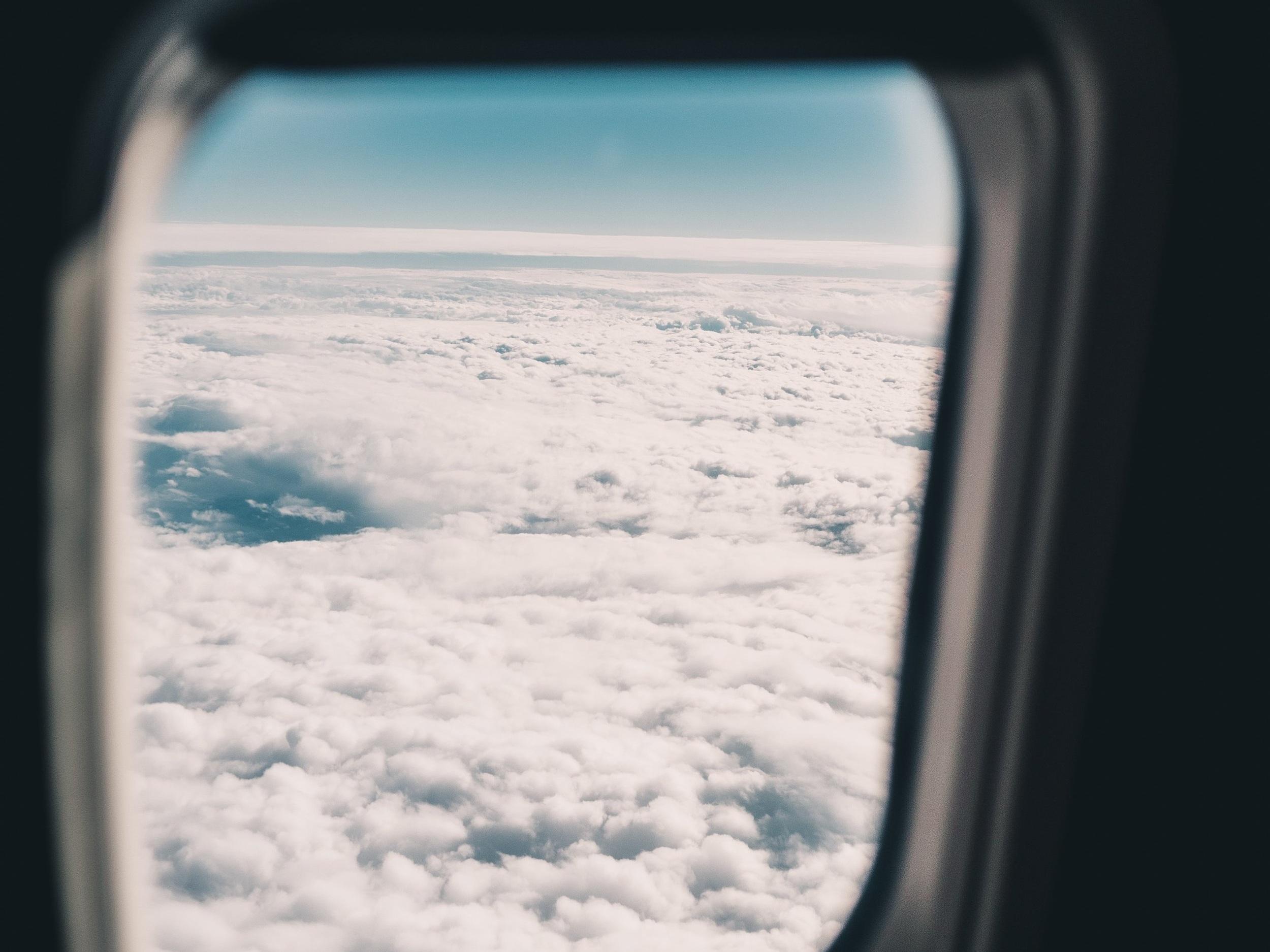 Somewhere in the sky. (Unsplash)