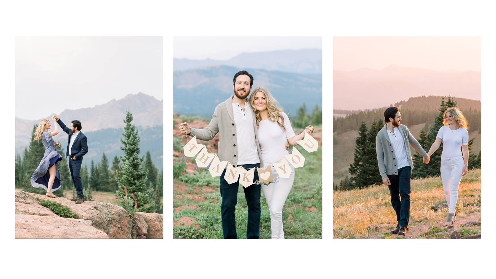 Michele with one L Photography Vail Wedding Engagement Photographer