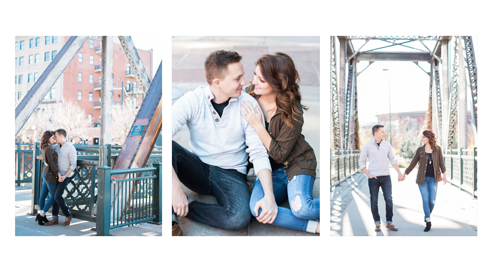 Downtown Denver Engagement Wedding Photographer Michele with one L Photography