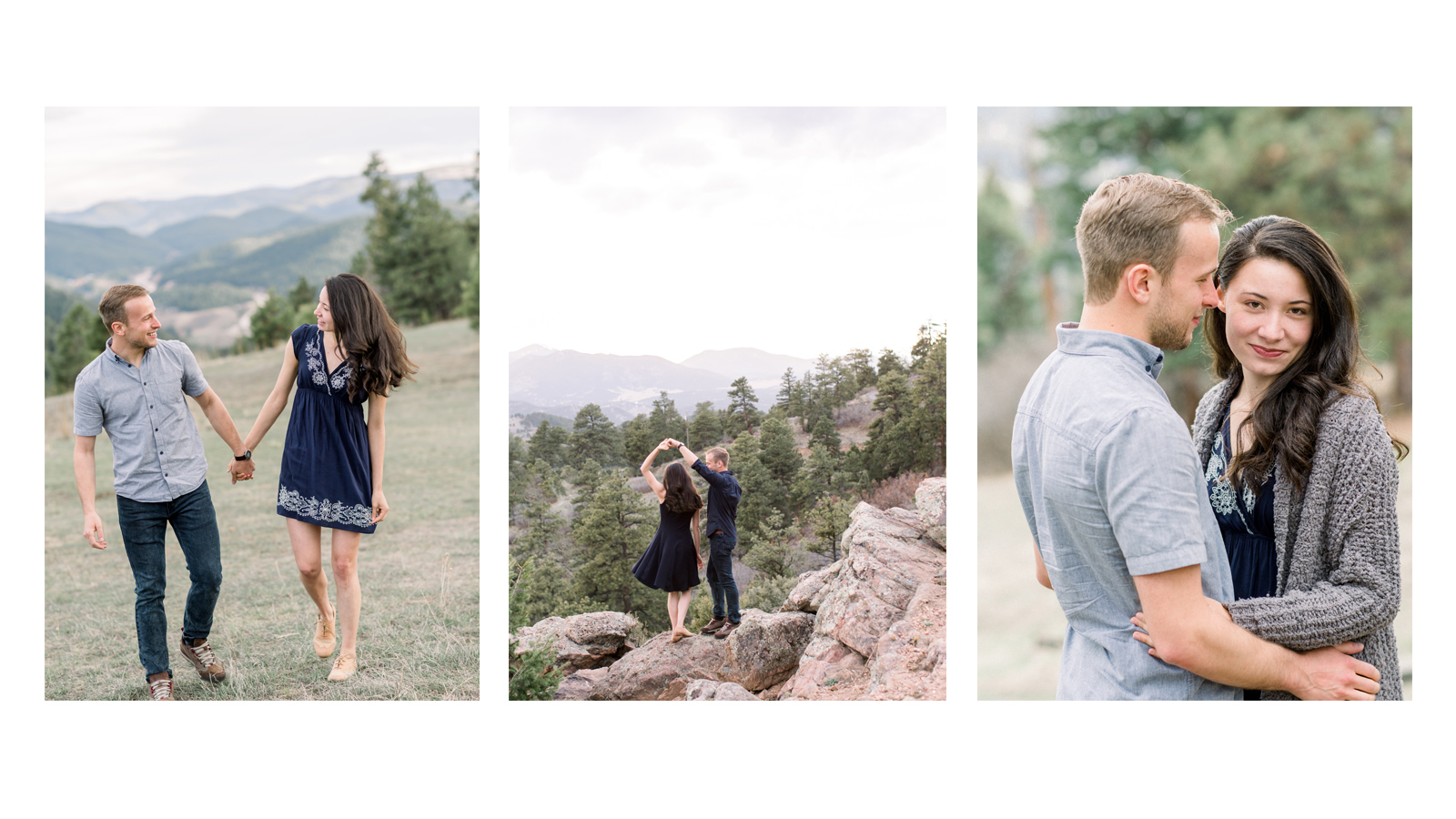 Michele with one L Colorado Mountain Engagement Photographer.jpg