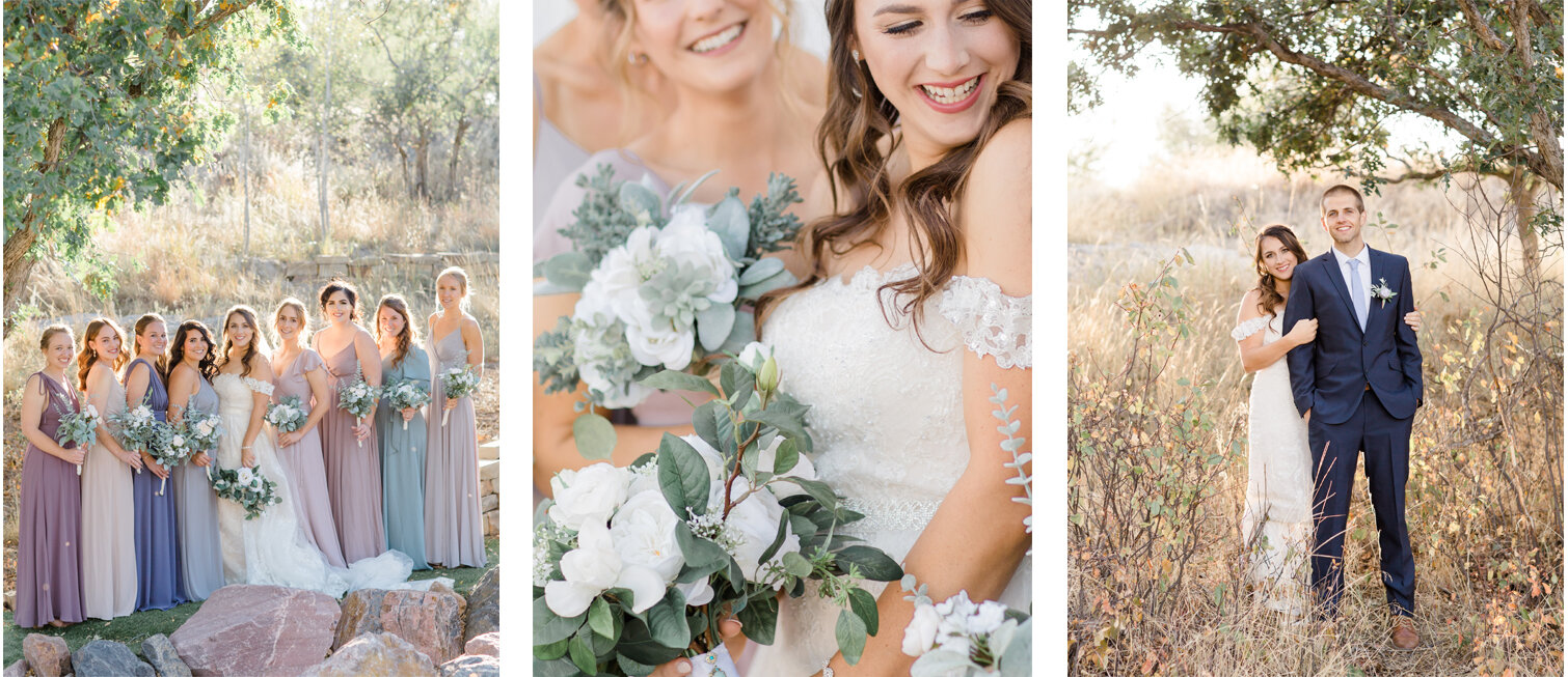 Michele with one L Photography | Creekside Event Center | Colorado Springs Wedding Photographer.jpg