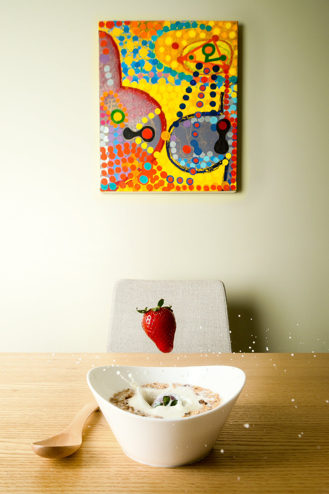 Breakfast Cereal Still Life