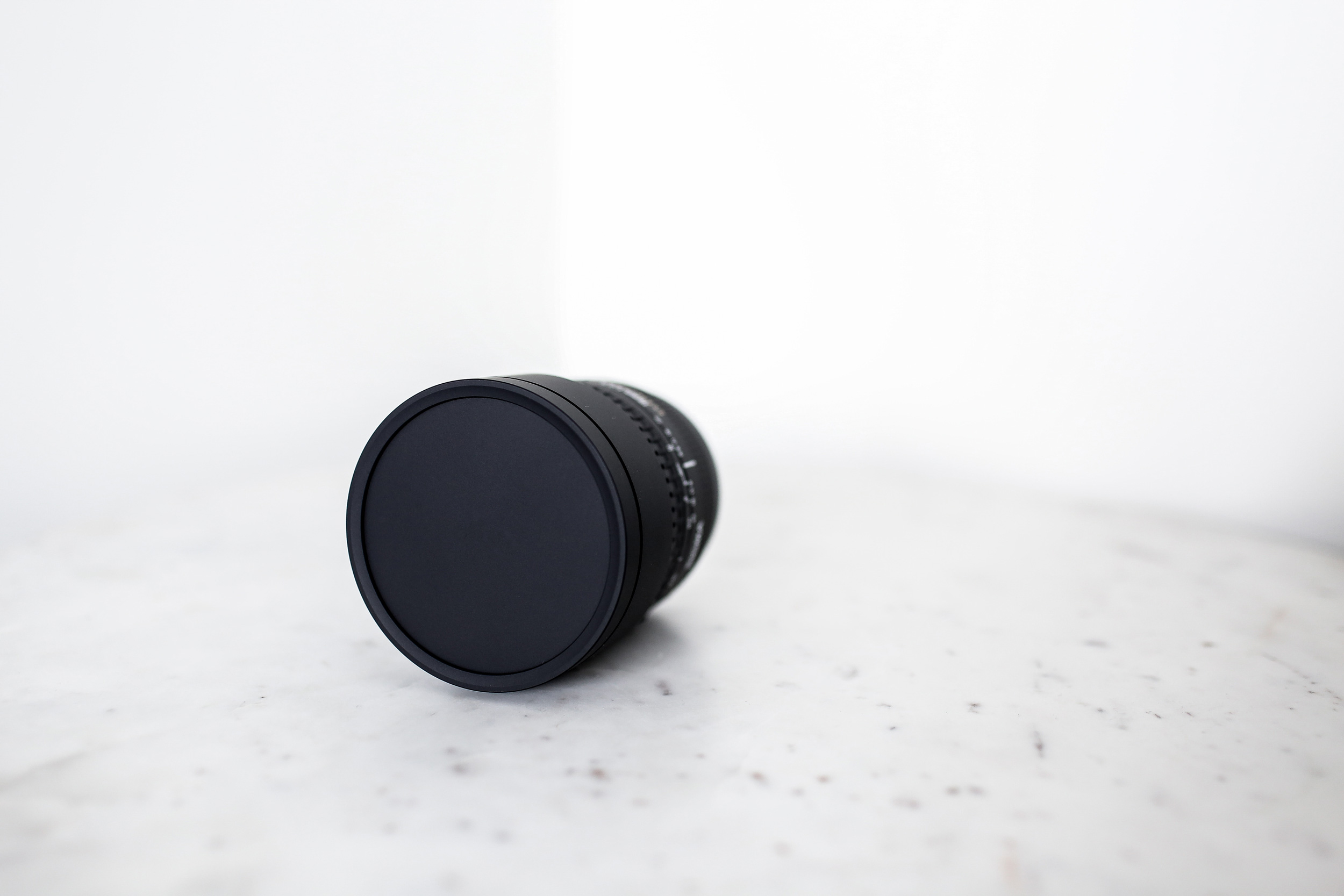 Whoops - Looks like your lens cap is still on.