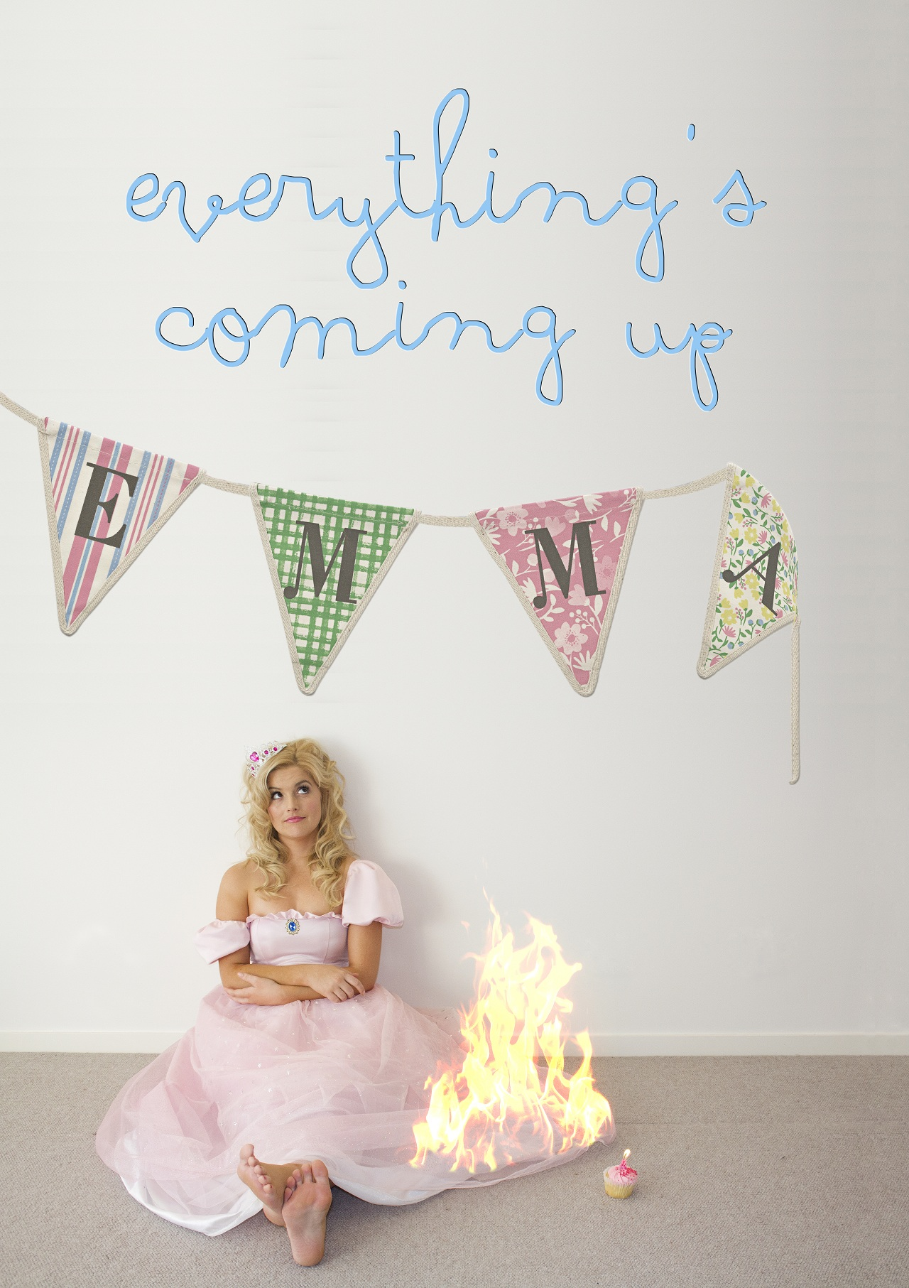 EVERYTHING'S COMING UP EMMA - Emma hasn't eaten an actual vegetable since 2007.For Emma Holliday, things are looking grim. She's single, broke and worst of all, a children's party entertainer. Misfortune seems to cling to her like a polyester koala. She's the black sheep of her family. Yet somehow, Emma keeps a constant ember of hope alive. Hope for a brighter day. Hope for a better break. She's an optimist… a quiet dreamer. And as she doggedly pursues those dreams, we nervously watch and will her on, a la turtle hatchlings dashing toward the waiting ocean en masse. Of course, much like those turtles, hardly any of her dreams make it.Under the mentorship of writer/performer Dan Ilic, we held a reading of our pilot episode of Everything's Coming Up Emma at Sydney's Capitol Theatre. This led to us capturing the attention of Andrew Denton and leading production company Cordell Jigsaw Zapruder.CJZ have provided us with invaluable development support and guidance for our project which we are currently developing into a half hour scripted comedy series.