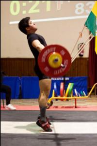 Pedro   Claro –  Treinador e atleta. Curso de treinador de Halterofi- lismo – FHP.