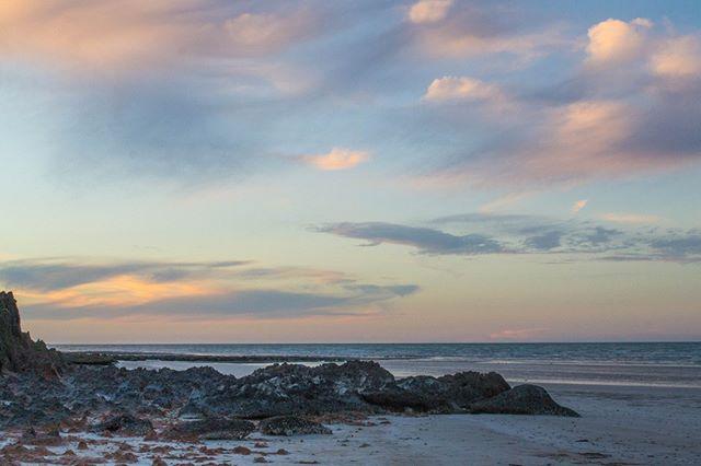 Trust your journey. . . . . . . #freetowander #sunsetlove #australianbeaches #seeaustralia #pilbaralife