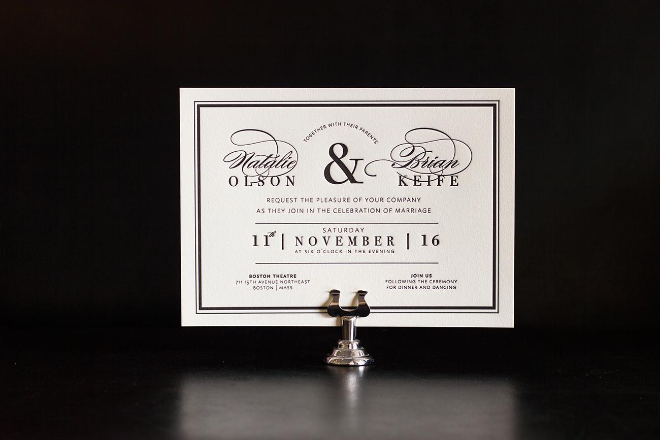 Boston   - 1c letterpress