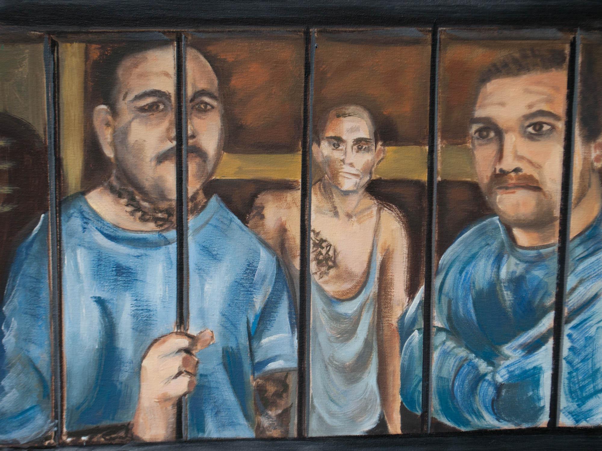 "Barrio Azteca / Mexico, 12"" x 16"" Oil on Canvas Board, 2012"