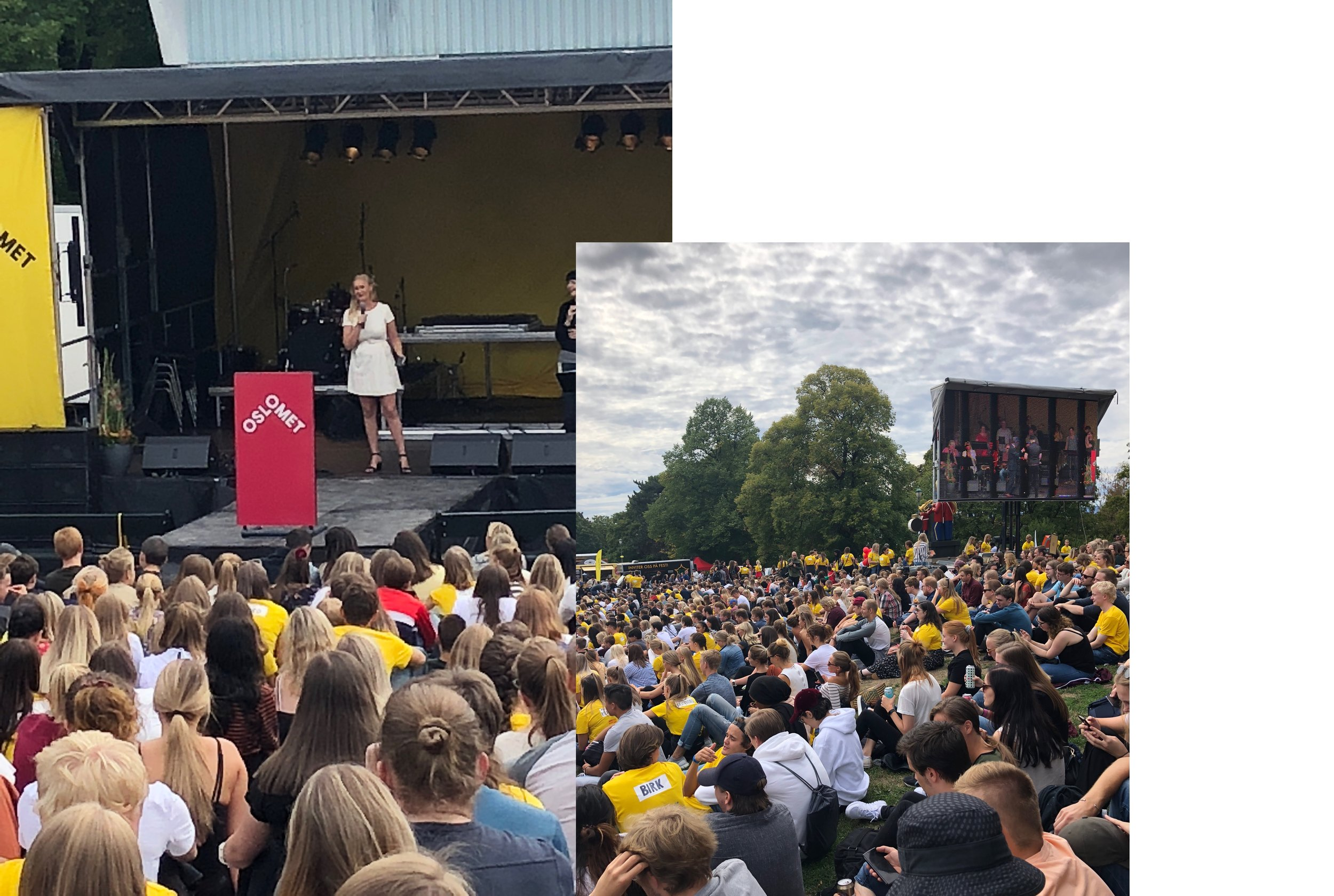 OsloMET 2018 - Sofie Frøysaa som konferansier på OsloMET 2018