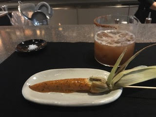 Corn dog from Pujol