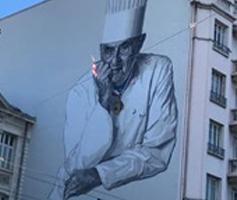 Paul Bocuse Mural