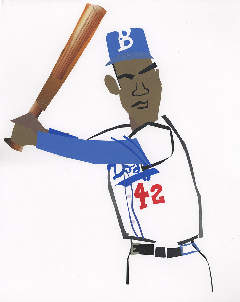 """""""Jackie Robinson"""" Graham and Parks"""