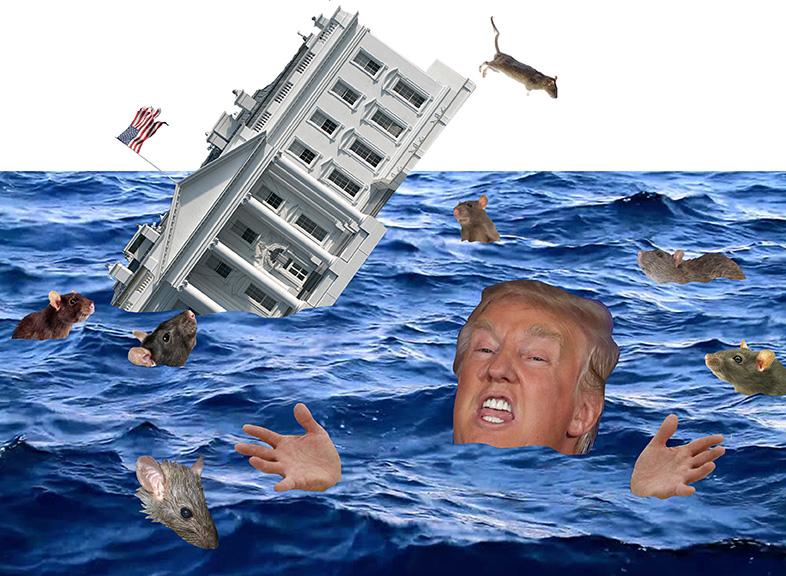 Trump Sinking Ship