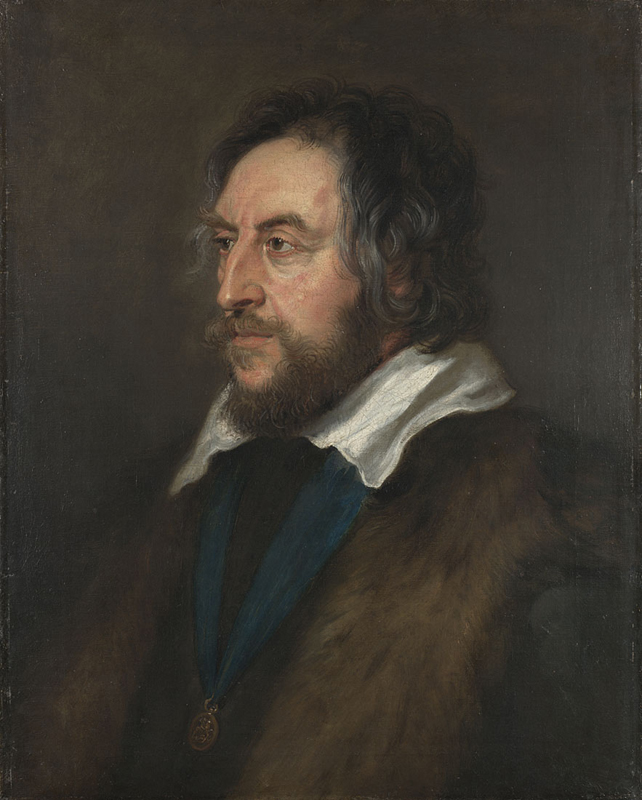 "One of Malcolm's favourite portraits, Peter Paul Rubens, ""Thomas Howard, Earl of Arundel,"" 1629-30, oil on canvas, 67 x 54cm, London, National Gallery."