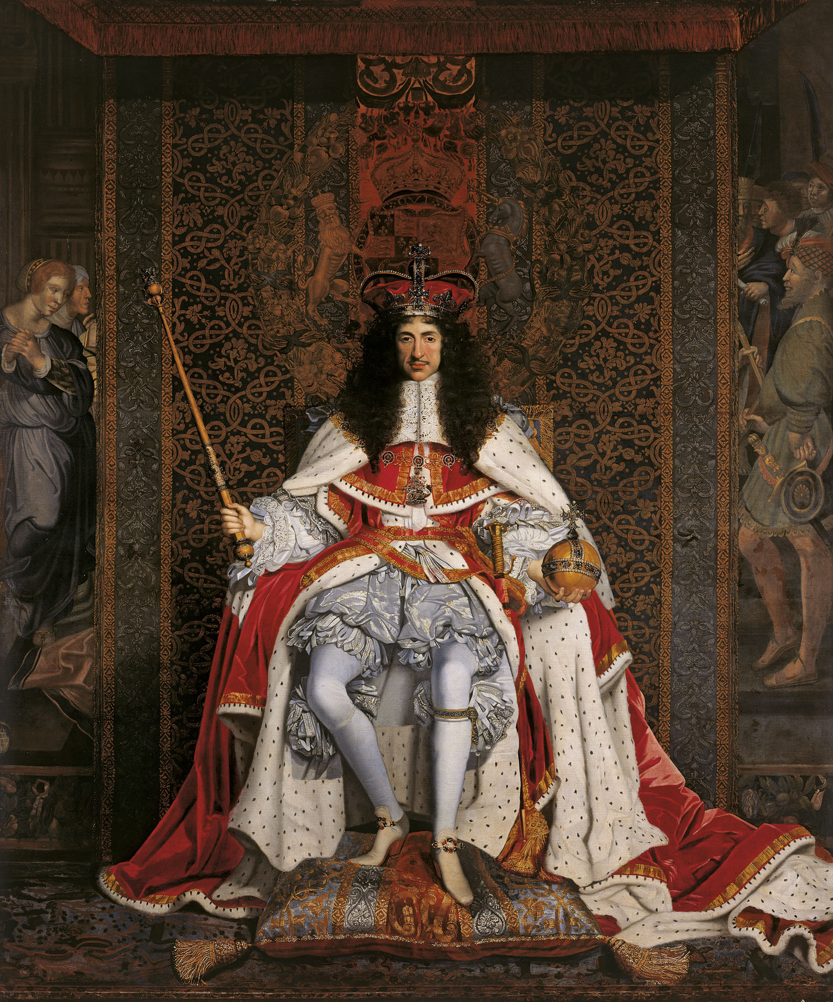 John Michael Wright, King Charles II  Royal Collection Trust / © Her Majesty Queen Elizabeth II 2017