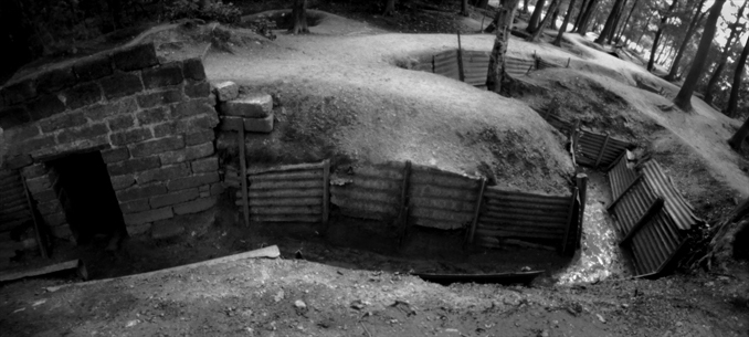 Trench, Hill 62, Ypres, Belgium