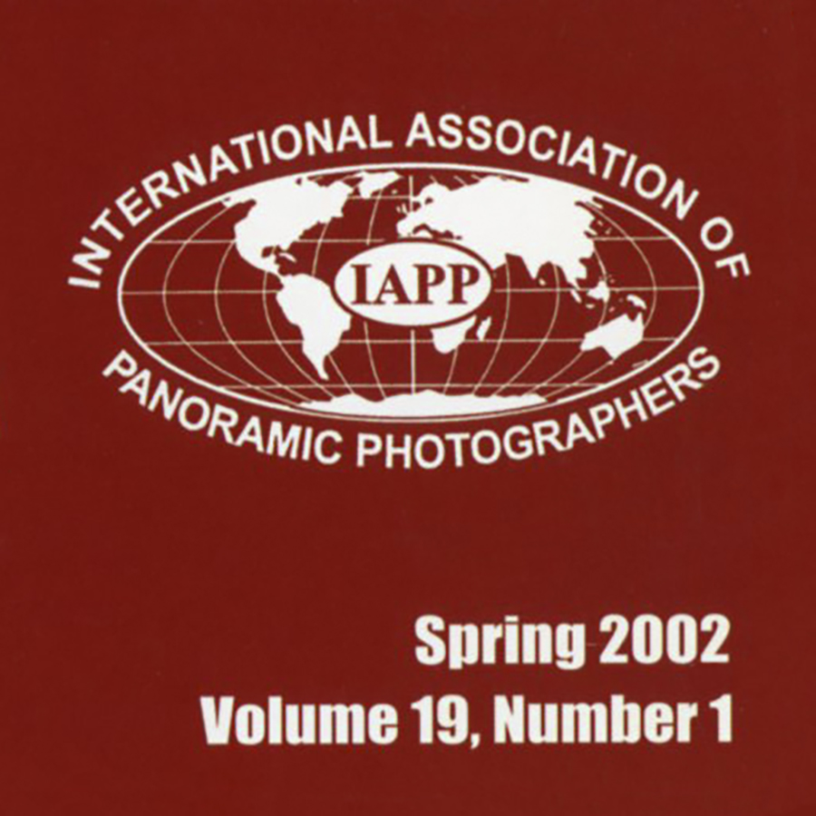 Article in Photography Magazine   Panorama,  The Journal of the International Association of Panoramic Photographers (IAPP) Vol. 19, No. 1, Spring 2002 Article by the artist describing the origins of the  Tears of Stone: World War I Remembered  project, technical approaches, and experiences that occurred while photographing