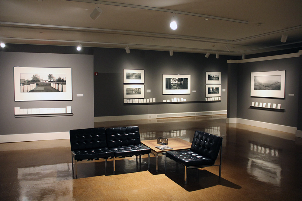 Installation view of  Tears of Stone: World War I Remembered  at the Dayton Art Institute