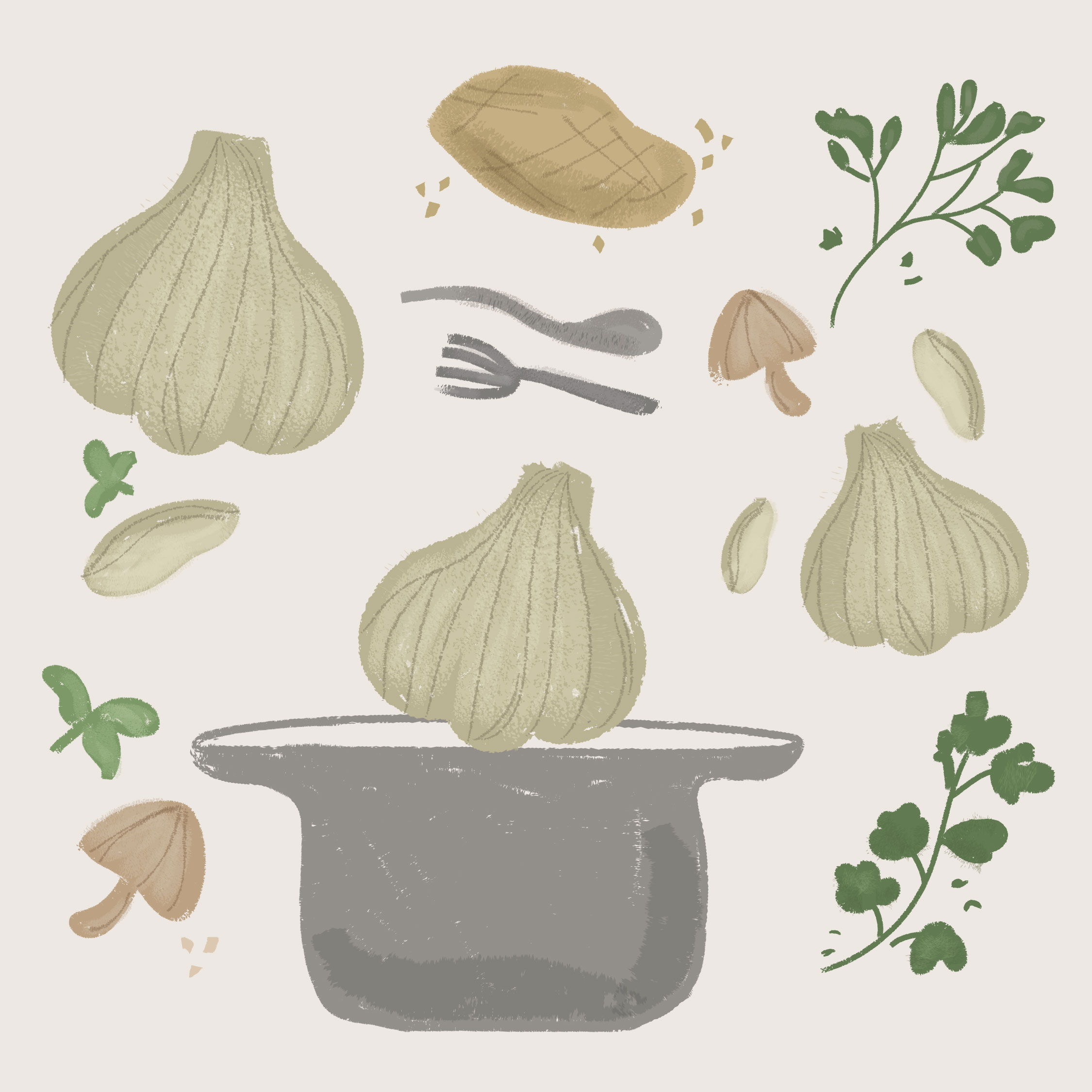 Garlic Cuisine Roots