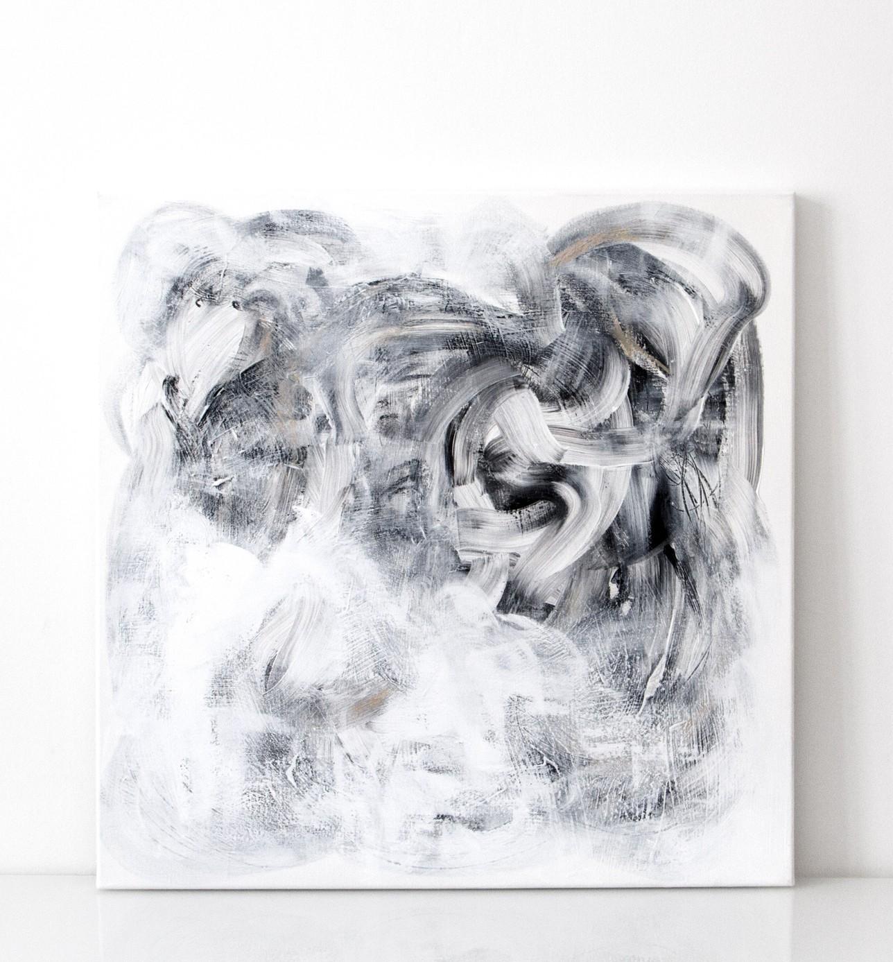AALTO | 016  2015 acrylic on canvas 90 x 90 cm | SOLD