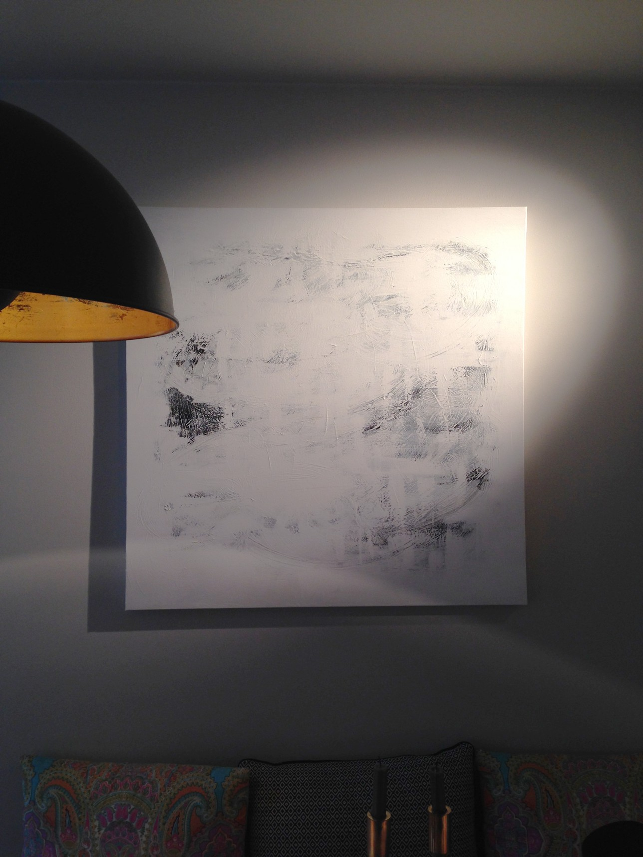 SADE | 006  2014 acrylic on canvas 100 x 100 cm | SOLD
