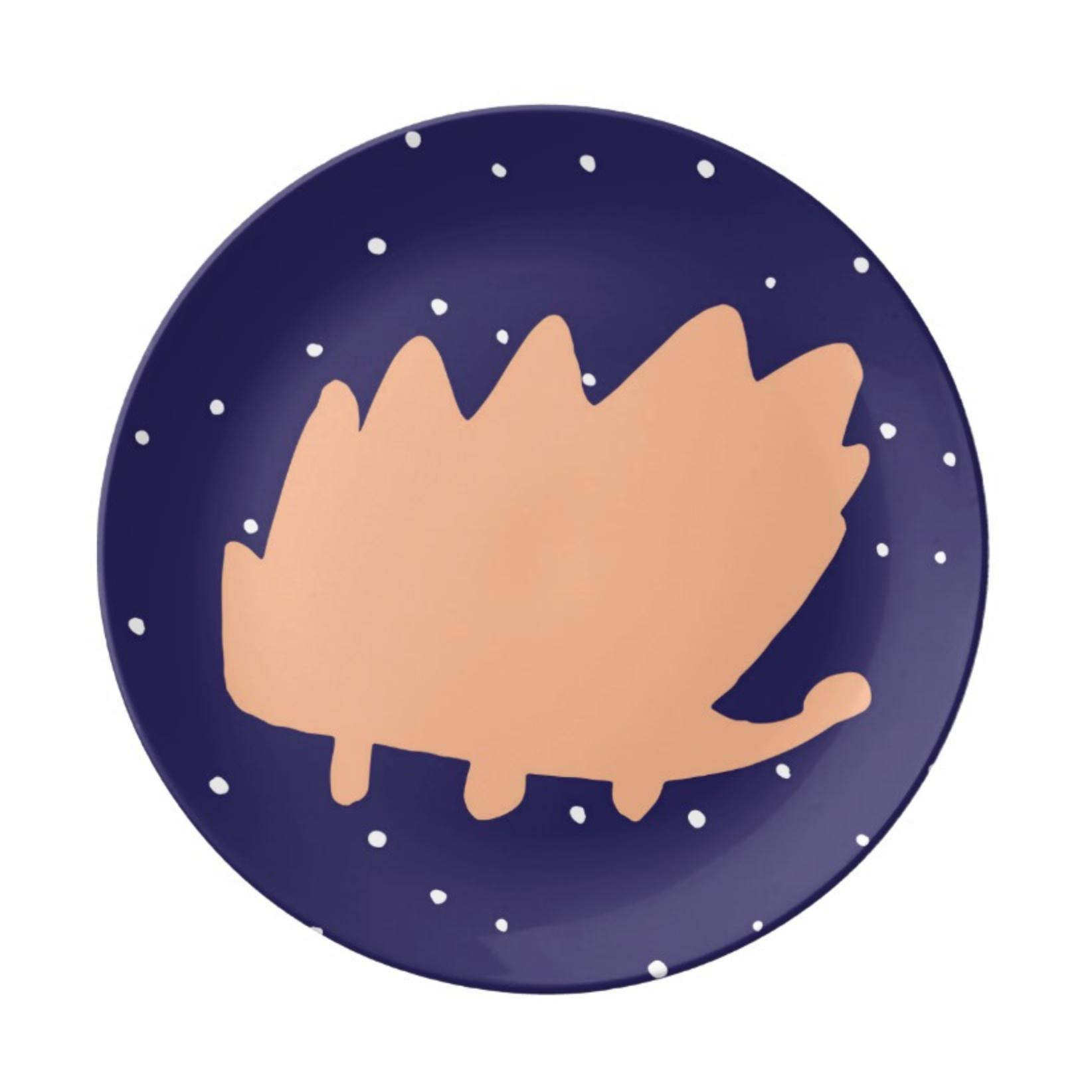 ISLET hedgehog,  tray, midnight
