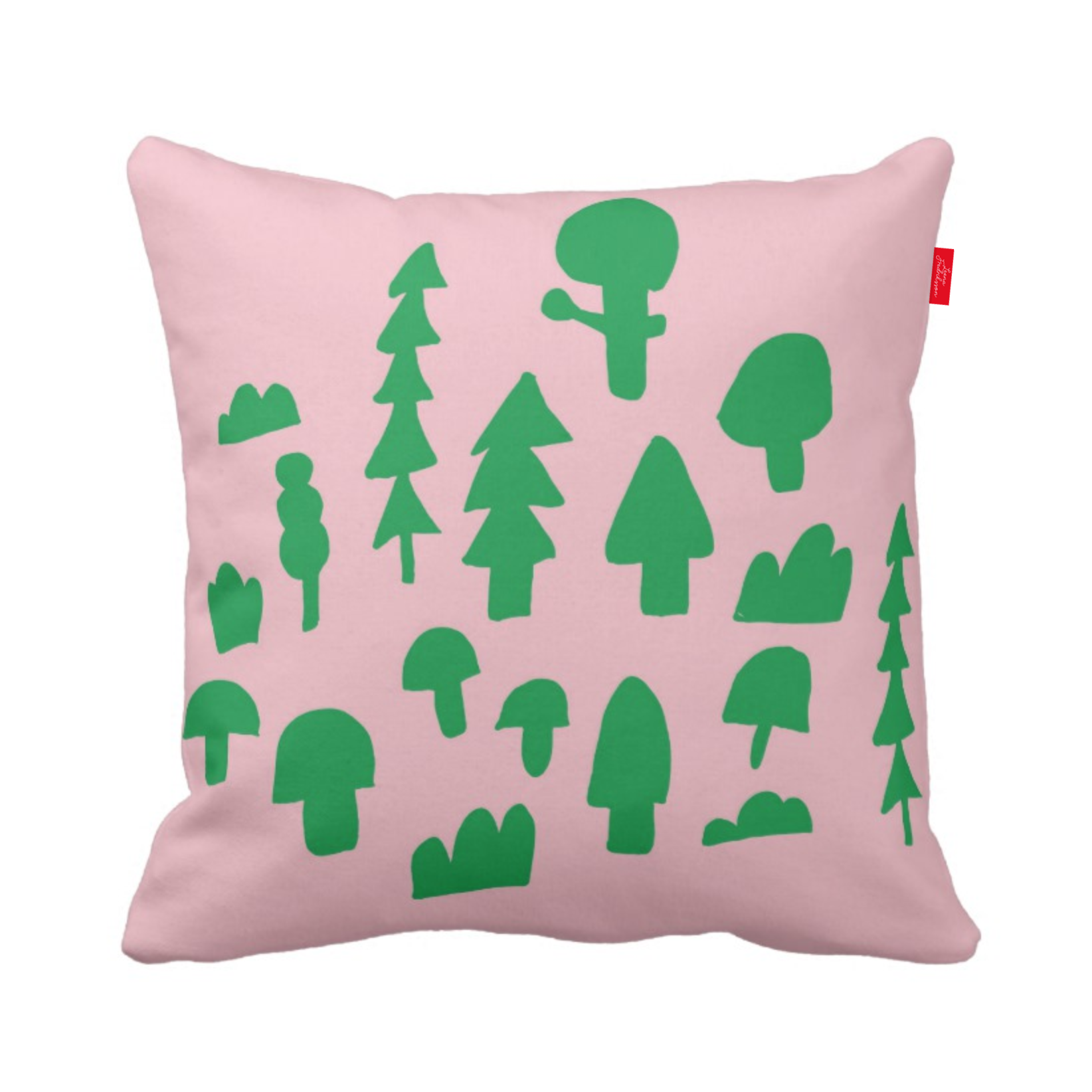 ISLET forest,  pillow, green 1