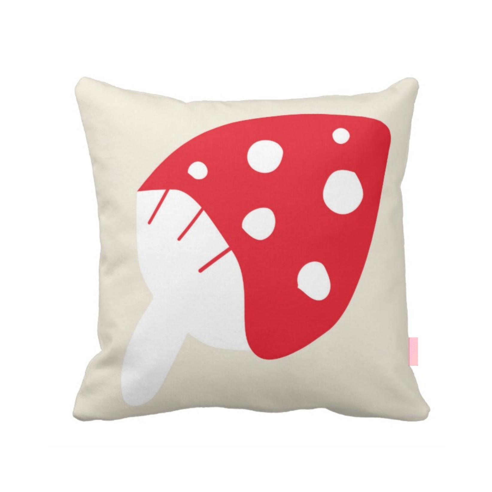 ISLET mushroom,  pillow