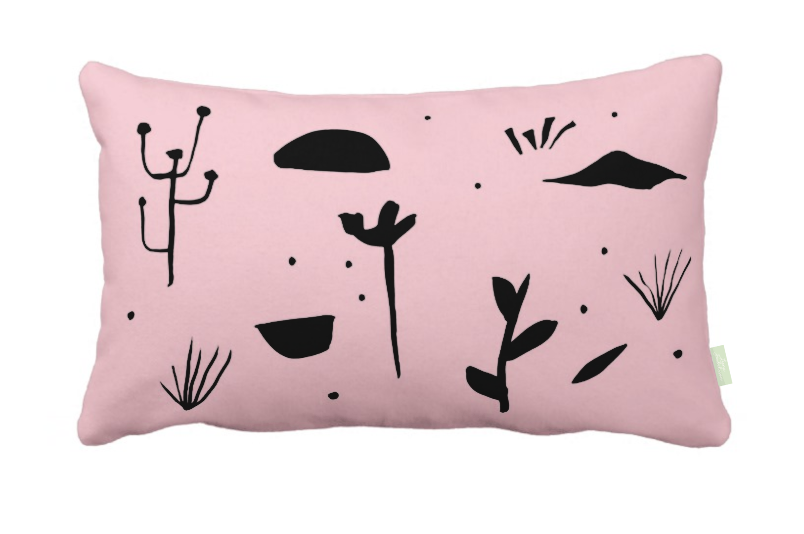 ISLET meadow,  pillow, black