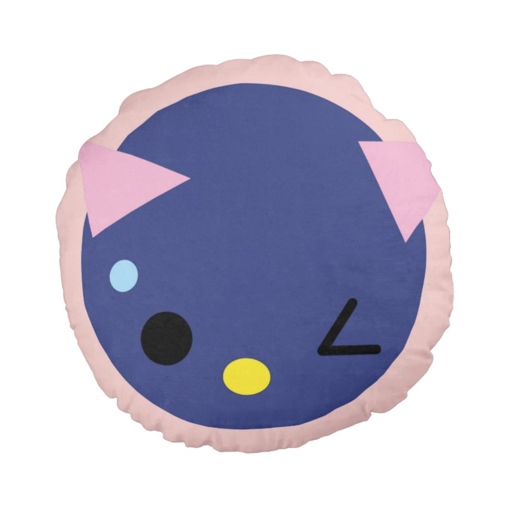 SUPERCUTE cushion,  blueberry
