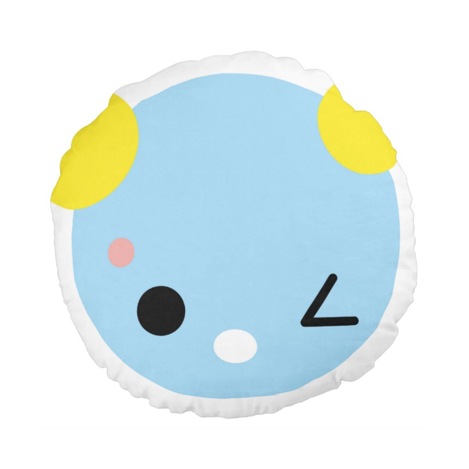 SUPERCUTE cushion,  light blue