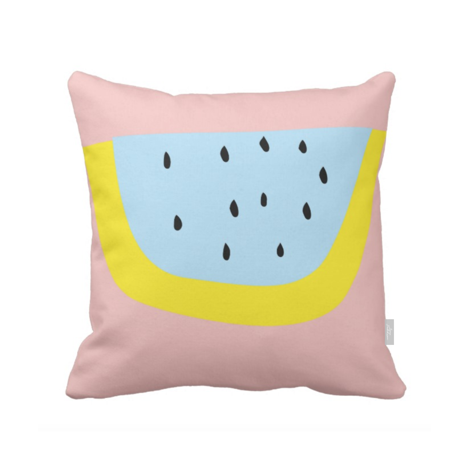 SUPERCUTE pillow,  citron
