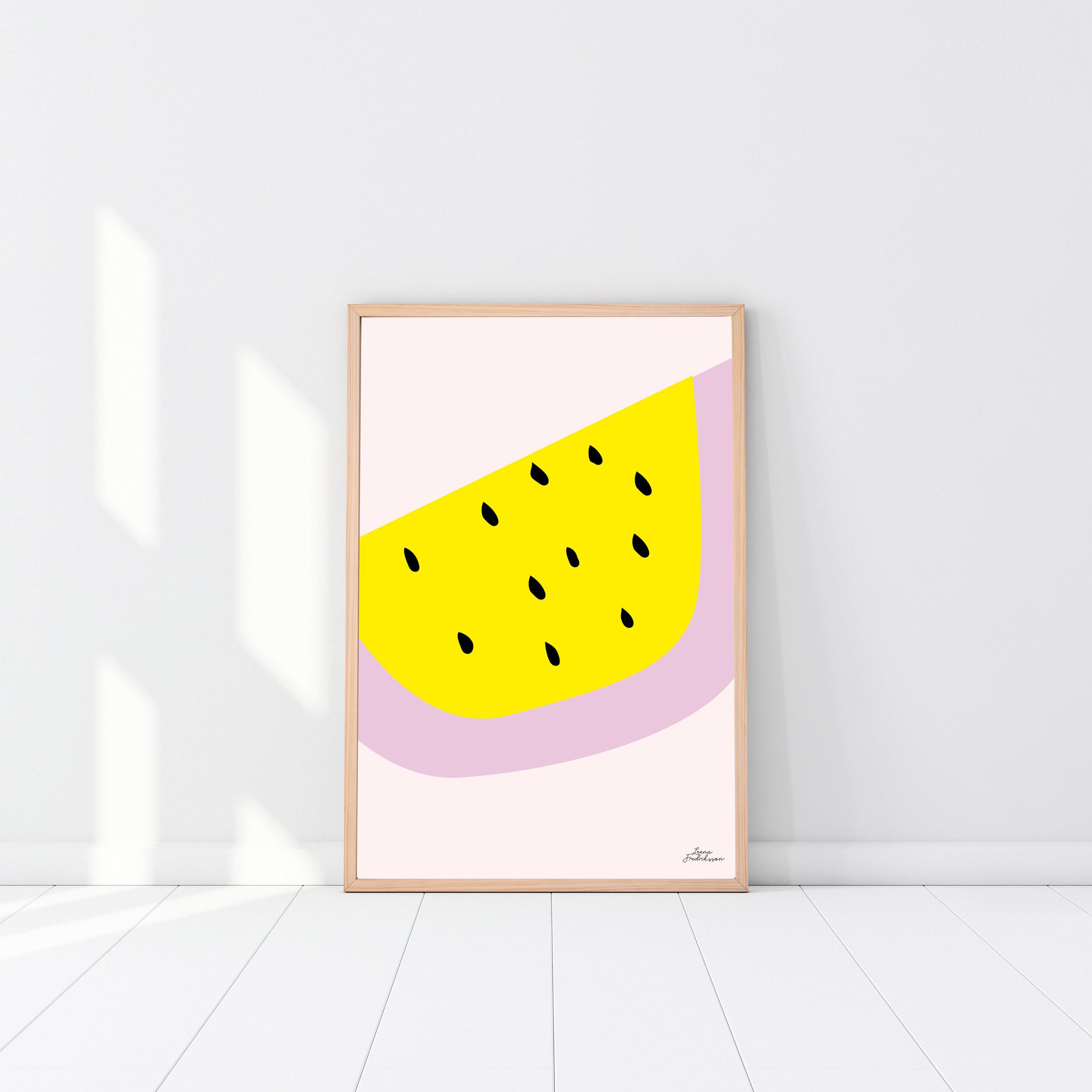 SUPERCUTE poster,  melon