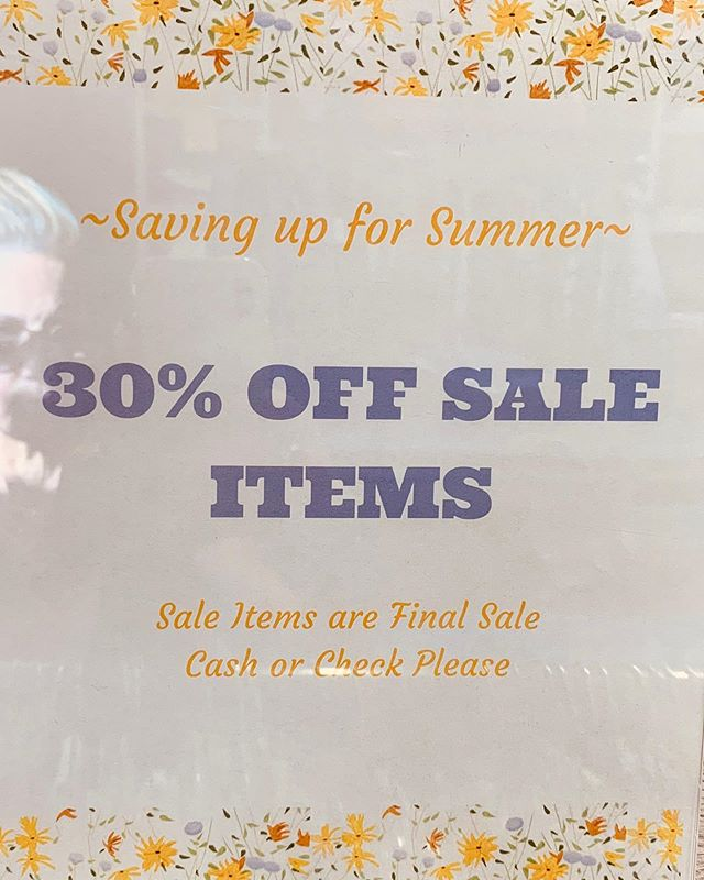 "🌿👗🌸🌞🌿 🎼""Summertime, summertime.... sum sum summer time!🎼"" 🏖💐⛱ it's that time again girls!  our summer sale  is in full swing. make time to pop in and save  30-50% o f f on all your lauren b summer faves. . . . #morristownnj #shoplocal #boutiqueshopping #brickandmortar #summer2019"