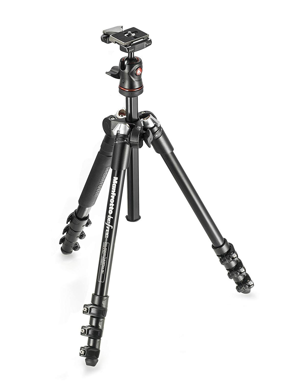 The perfect Travel Tripod. Lightweight and small, the Manfrotto Befree!