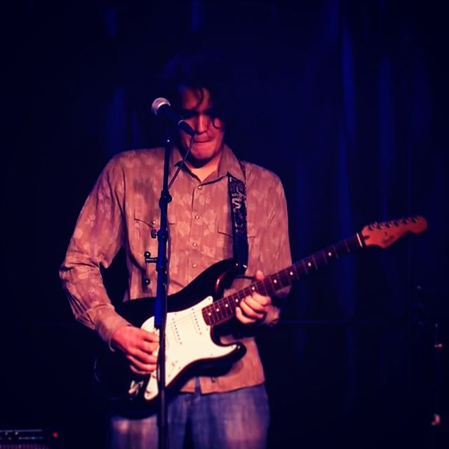 Tommy mid solo. Link to music in bio 🎶 . . . . #fullsail #live #thespinningstillness #rock #indie #music #indiemusic #indierock #rocknroll #guitar #electricguitar #guitarist #amp #bass #bassguitar #drums #drumset #cymbals #distortion #vocals #voice #thestrokes #thekillers #arcticmonkeys #kingsofleon #postpunkrevival #orlando #florida  #orlandoflorida #orlandofl