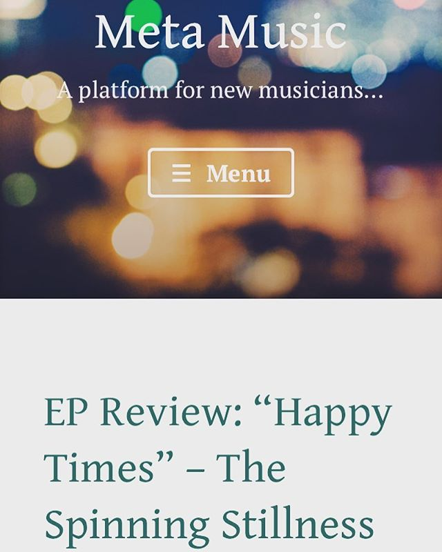 """On ""Happy Times"", The Spinning Stillness inject a much-needed shot of melody and innocence back into the arms of indie rock...."" -Meta Music @metamusicdan  Link to music in bio. https://meta.music.blog/2018/10/16/ep-review-happy-times-the-spinning-stillness/. . . . . #metamusic #review #thespinningstillness #rock #indie #music #indiemusic #indierock #rocknroll #guitar #electricguitar #ep #happytimes #bass #bassguitar #drums #thepixies #thelibertines #razorlight #vocals #voice #thestrokes #thekillers #arcticmonkeys #kingsofleon #postpunkrevival #orlando #florida  #orlandoflorida #orlandofl"