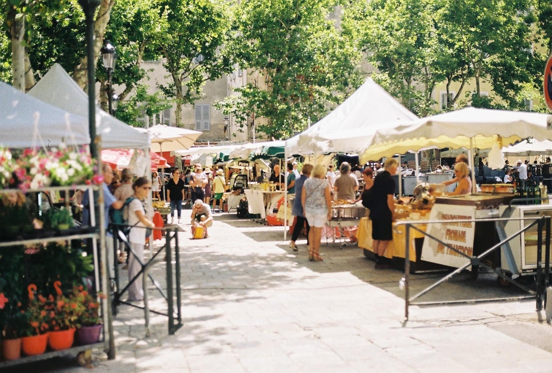 Bastia market