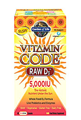 Garden of Life Raw Vitamin D
