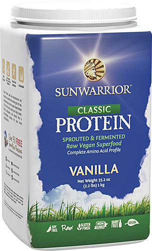 Sunwarrior Vegan Sprouted & Fermented Protein (Raw)
