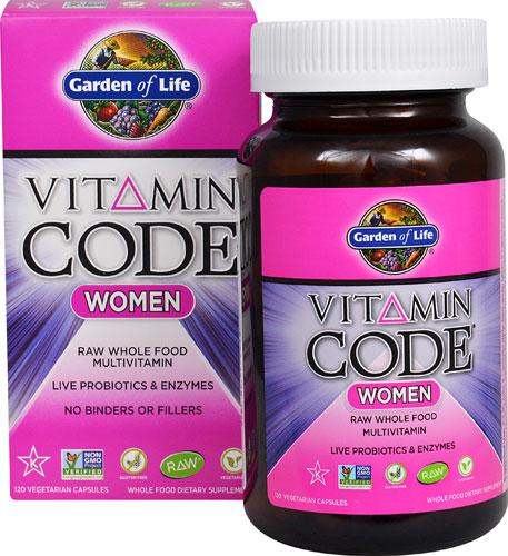 Garden of Life Women's Raw Multi-vitamin