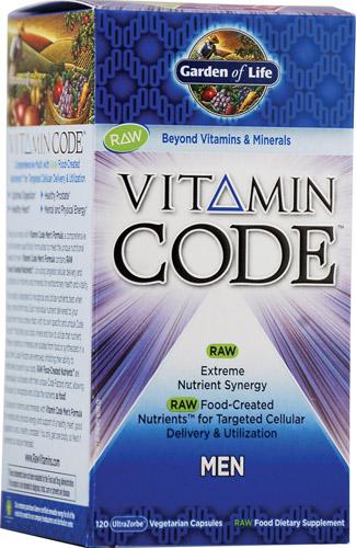 Garden of Life Men's Raw Multi-vitamin