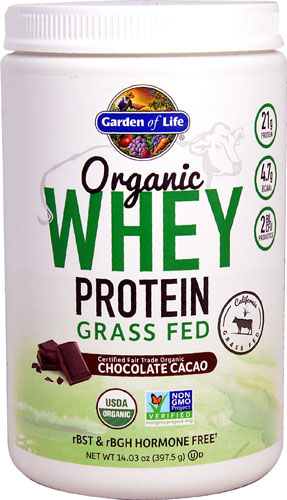 Organic Grass Fed Whey