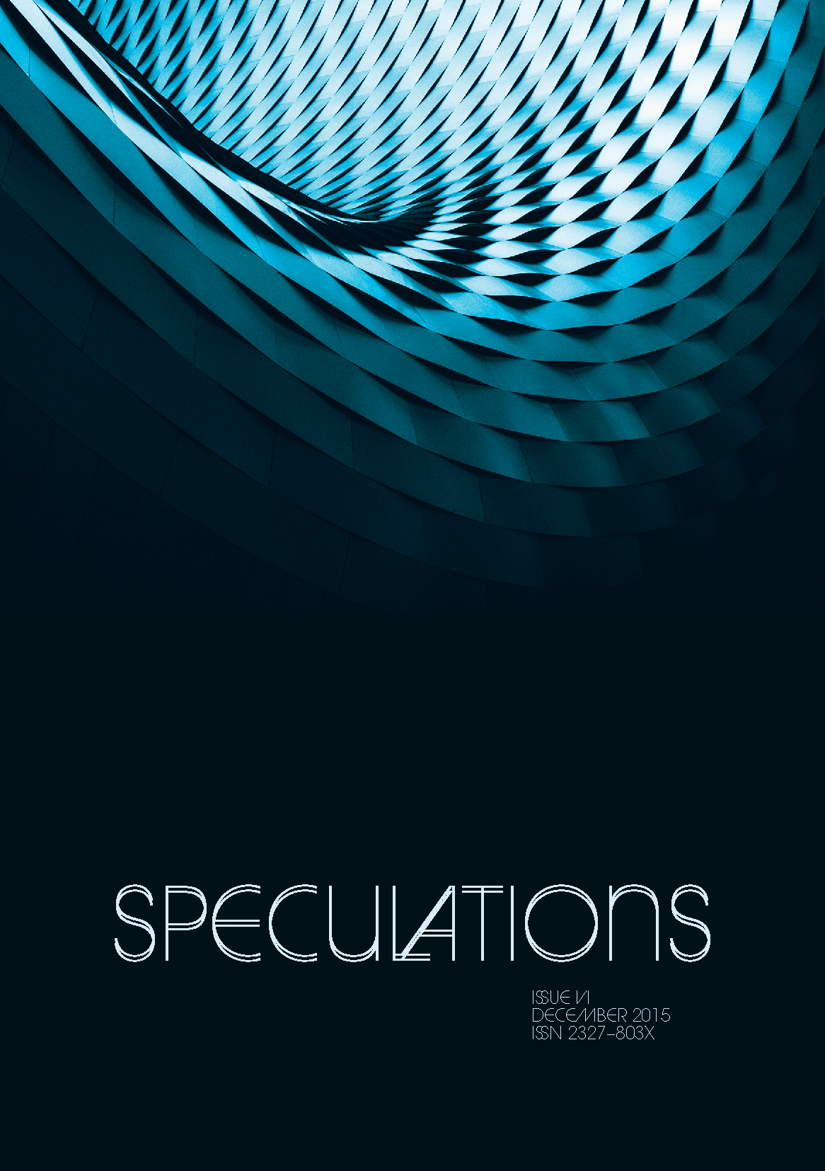 Speculations VI. 2016.